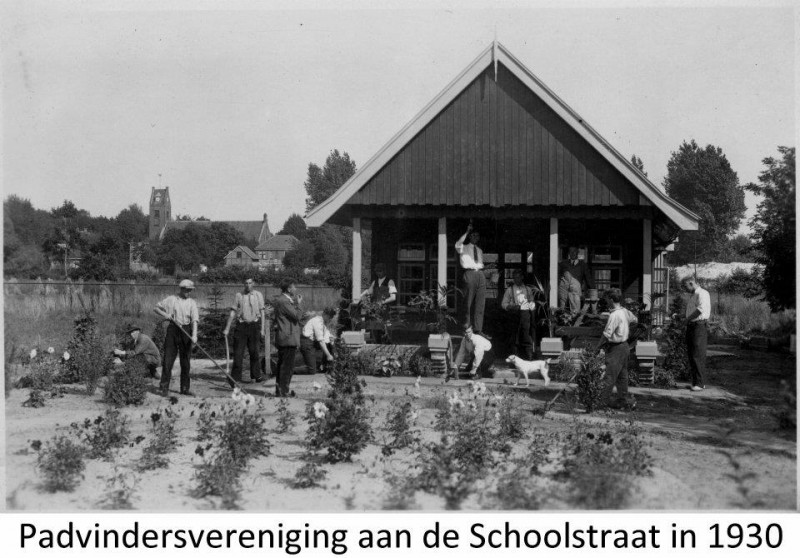 Glanerbrug Schoolstraat 1930 Padvindersvereniging.jpg