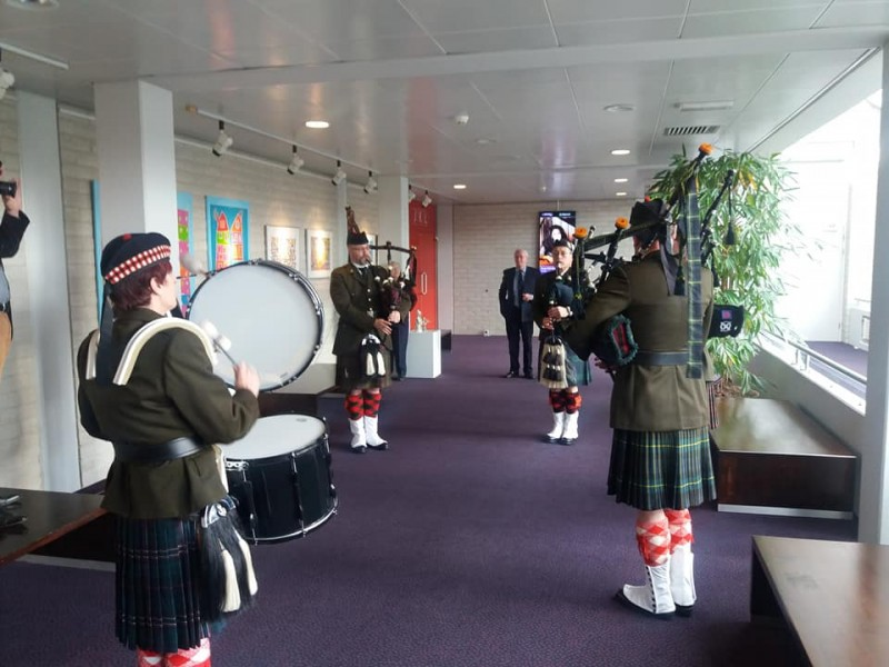 Noorderhagen Muziekcentrum Scholts doedelzakkencorps Highland regiment Pipes & Drums..jpg