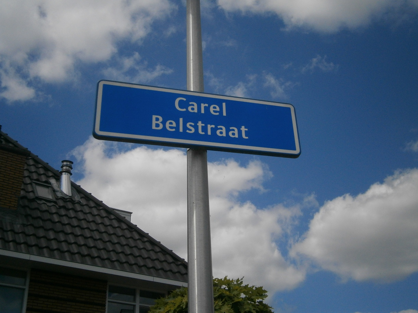 Carel Belstraat straatnaambord.JPG