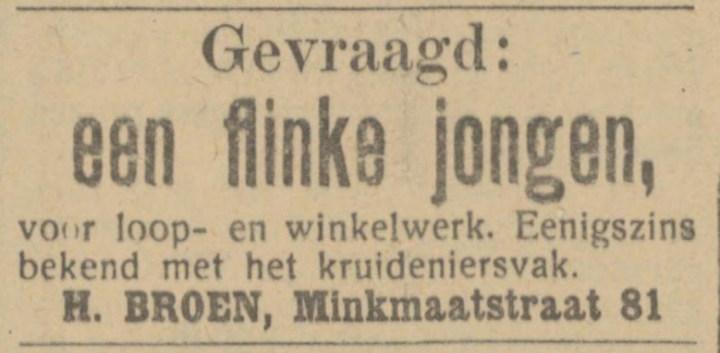 Minkmaatstraat 81 H. Broen advertentie Tubantia 29-3-1913.jpg