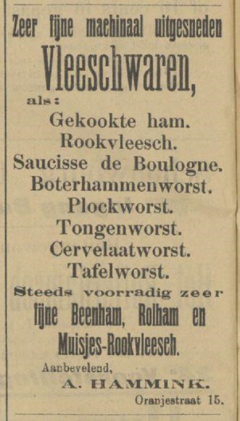 Oranjestraat 15 A. Hammink advertentie Tubantia 23-3-1907.jpg