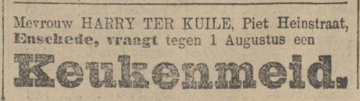 Piet heinstraat 1 Harry ter Kuile advertentie 31-3-1913.jpg