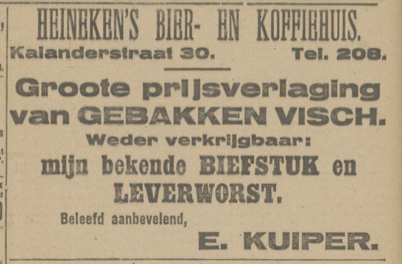 Kalanderstraat 30 E. Kuiper advertentie Tubantia 29-3-1919.jpg