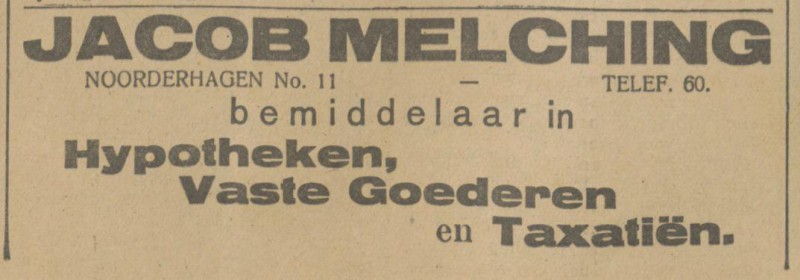 Noorderhagen 11 Jacob Melching advertentie Tubantia 30-6-1917.jpg