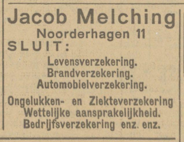 Noorderhagen 11 Jacob Melching advertentie Tubantia 27-11-1924.jpg