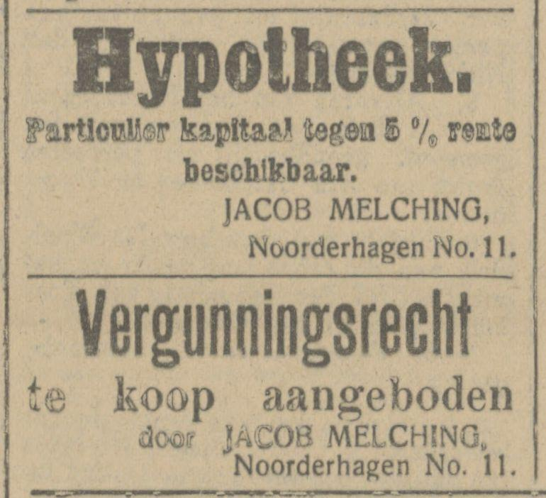 Noorderhagen 11 Jacob Melching advertentie Tubantia 21-3-1916.jpg