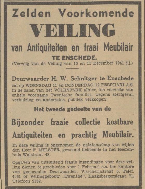 Walstraat 43 F. Melster advertentie Tubantia 3-1-1942.jpg