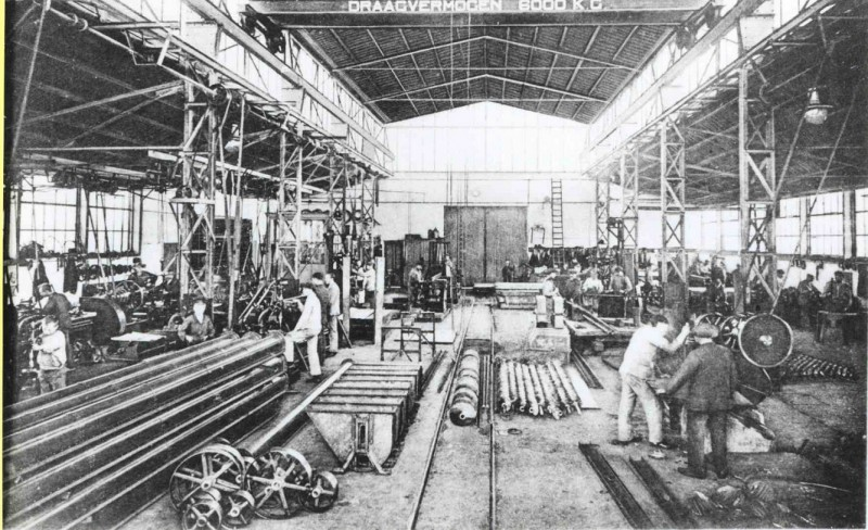Molenstraat 1914 Interieur Transport werktuigen-en machinefabriek Sanders.jpg
