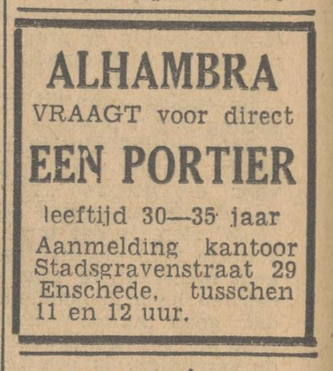 Stadsgravenstraat 29 Alhambra advertentie Tubantia 30-4-1947.jpg