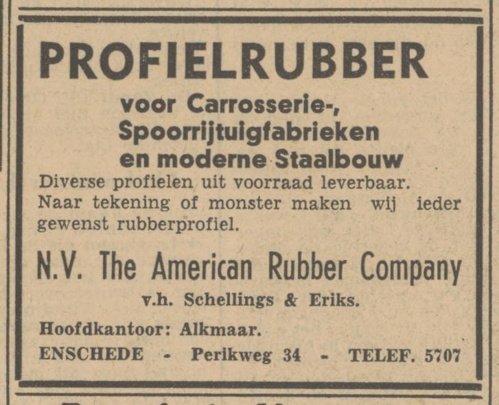 Perikweg 34 N.V. The American Rubber Company advertentie Tubantia 24-7-1947.jpg