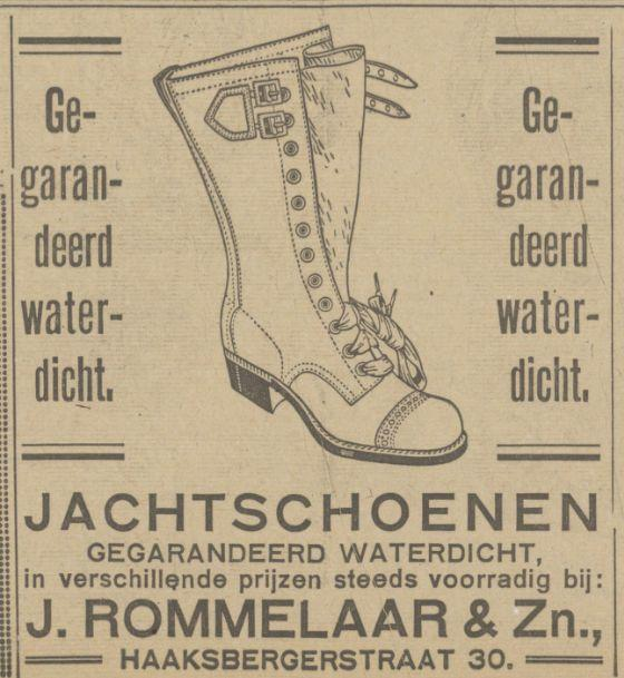Haaksbergerstraat 30 J. Rommelaar & Zn. advertentie Tubantia 13-9-1924.jpg