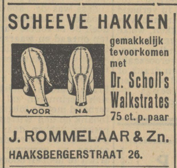 Haaksbergerstraat 26 J. Rommelaar & Zn. advertentie Tubantia 9-9-1935.jpg