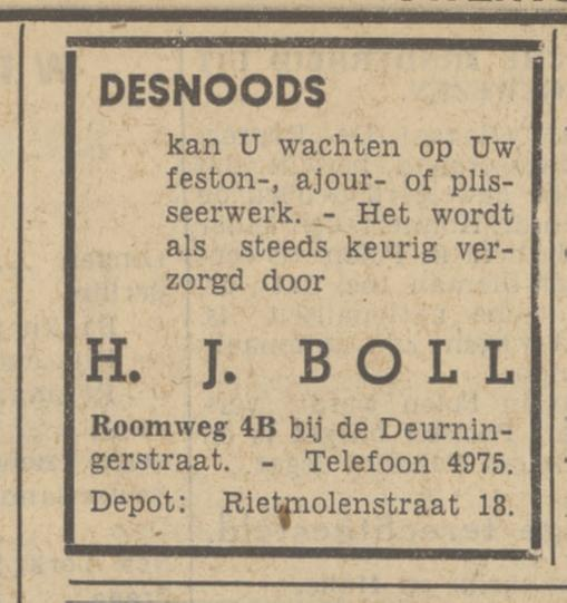 Roomweg 4b H.J. Boll advertentie Tubantia 6-3-1939.jpg