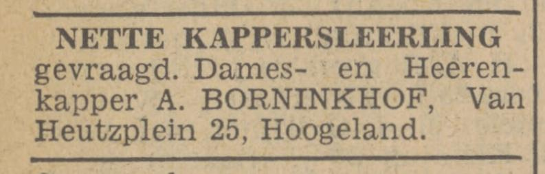 Van Heutzplein 25 A. Borninkhof kapper advertentie Tubantia 21-8-1940.jpg