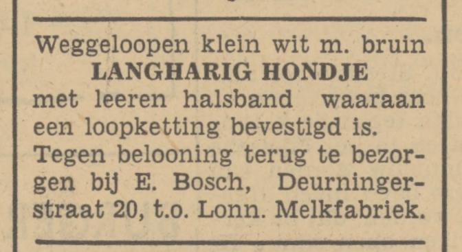 Deurningerstraat 20 E. Bosch advertentie Tubantia 15-6-1940.jpg