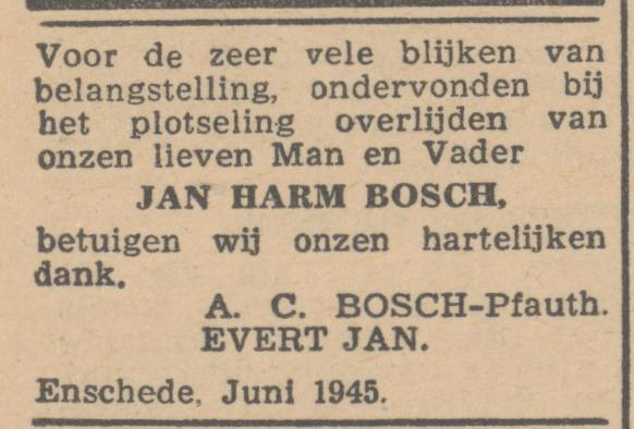 A.C. Bosch-Pfauth advertentie 4-6-1945.jpg