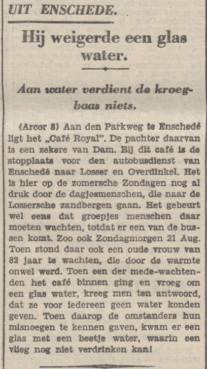 Parkweg cafe Royal krantenbericht De Tribune 31-8-1932.jpg