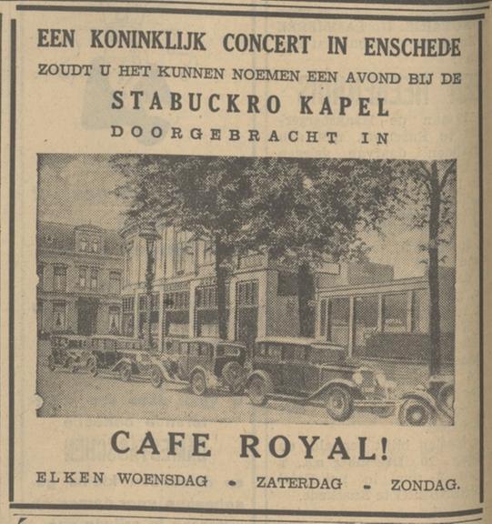 Parkweg cafe Royal advertentie Tubantia 30-11-1935.jpg