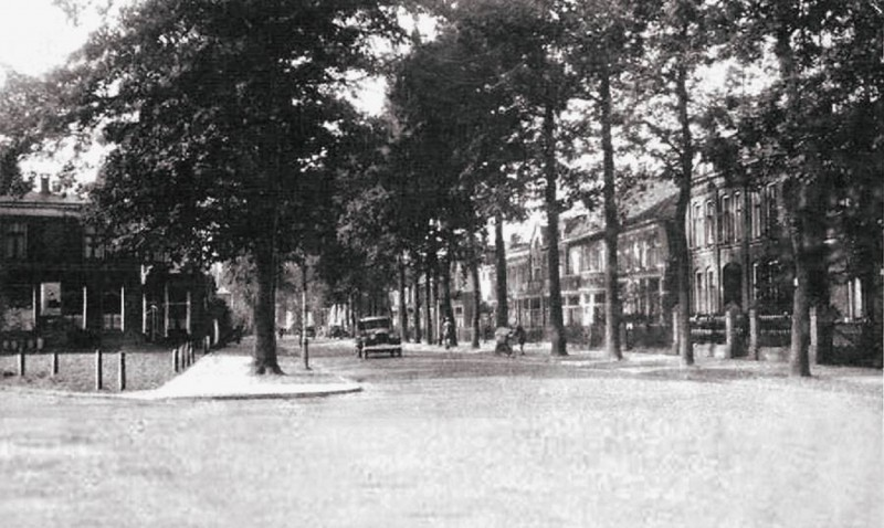 Haaksbergerstraat  119 links hoek Broekheurnerweg 1920.jpg
