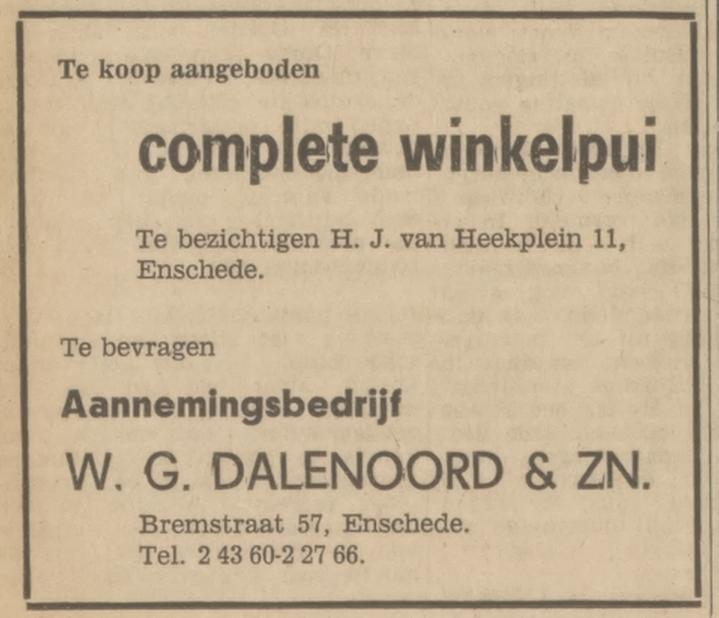 Bremstraat 57 W.G. Dalenoord advertentie Tubantia 6-9-1969.jpg