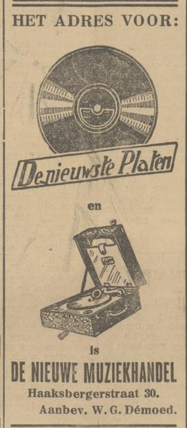 Korte Haaksbergerstraat 30 W.G. Demoed advertentie Tubantia 9-2-1932.jpg