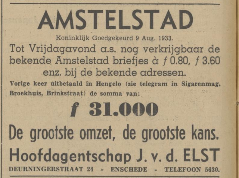 Deurningerstraat 24 J. v.d. Elast advertentie Tubantia 21-11-1939.jpg