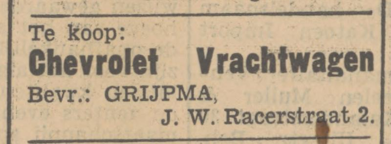 J.W. Racerstraat 2 Grijpma advertentie Tubantia 13-10-1934.jpg