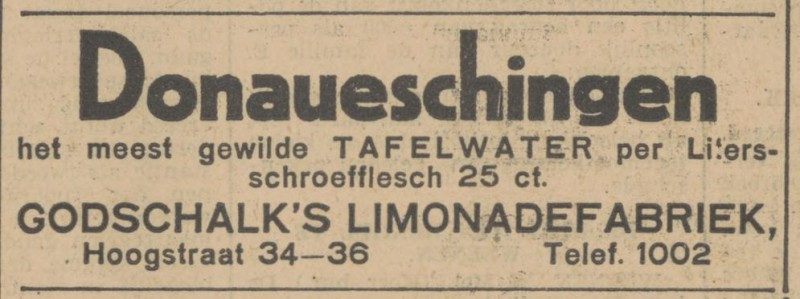 Hoogstraat 34-36 Godschalk limonadefabriek advertentie Tubantia 26-5-1931.jpg