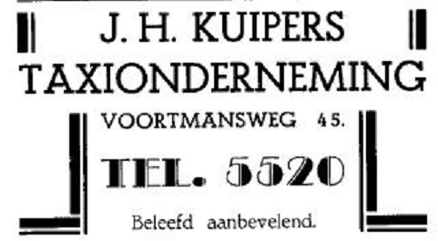 Voortmansweg 45 J.H. Kuipers taxionderneming advertentie.jpg